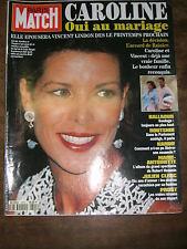 Paris Match N° 2315 7/10/1193 Caroline de Monaco Julien Clerc Routskoi Prost