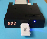GOTEK Diskettenlaufwerk Floppy Emulator für AMIGA.  HxC2001 Firmware . Blaue LED