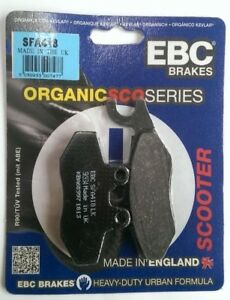 EBC Organic REAR Disc Brake Pads Fits PIAGGIO BEVERLY 350 (2011 to 2021)