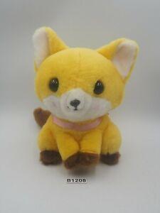 """Feneky the Fennec Fox B1208 Amuse Plush 6"""" Stuffed Toy Doll Japan"""
