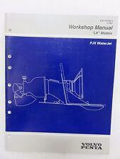 """1997 Volvo Penta """"LK"""" Model PJX WaterJet Service Manual 7797365"""