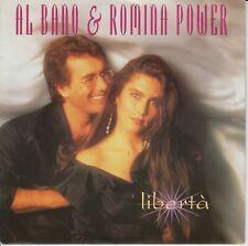 "Al Bano & Romina Power 7"" vinyl single Liberta 1991"