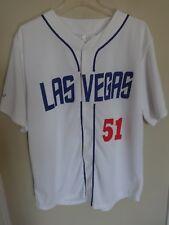 Vintage EUC MiLB Las Vegas 51's SGA Button Up Baseball Jersey Men XL Dodgers