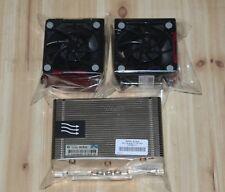 HP DL380 DL380p G8 Xeon V2 CPU Kit, Heatsink 662522-001 & 2 Fans 654577-001 zh8
