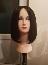 brazilian human hair Bob  wig with lace front closure