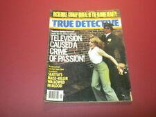 TRUE DETECTIVE magazine 1979 January CRIME MURDER POLICE CASES
