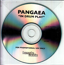 PANGAEA In Drum Play 2016 UK 10-track promo test CD + press release