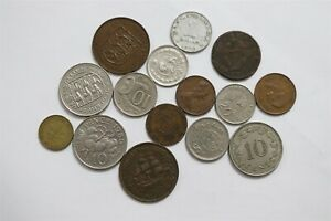 OLD WORLD COINS USEFUL LOT B32 RXF45