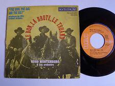 """HUGO MONTENEGRO : LE BON, LA BRUTE, LE TRUAND 7"""" 45T French RCA VICTOR 49.554"""