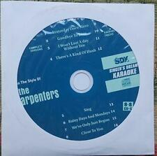 THE CARPENTERS KARAOKE OLDIES CDGM CD+G MULTIPLEX 8+8 - SDK9003