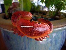Miniature Pot Hanger Hugger Crab Ls Ph79 Dollhouse Fairy Gnome Garden