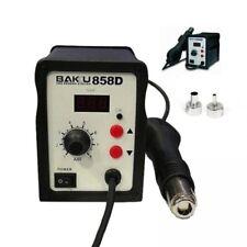 STAZIONE SALDANTE DISSALDANTE ARIA CALDA DISPLAY LED 700W BAKU BK-858D 100-450C