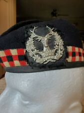 WWII BRITISH GORDON HIGHLANDERS CAP