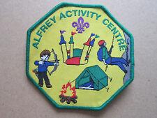 Alfrey Activity Centre Cloth Patch Badge Boy Scouts Scouting L3K C