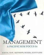 Management: A Pacific Rim Focus by Kathryn Bartol, Graham Matthewsk, Margaret...
