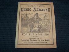 1910 Philadelphia PA Uncle Sam's Comic Almanac Astronomical Calendar