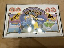 "Iron City Beer Can Tin Sheet ""Salute 1979 World Champion Pittsburgh Pirates"