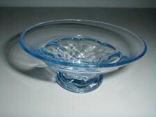 Cambridge Elegant Glass Blue GEORGIAN Low Flared Sherbet/ Dessert Bowl/Nut Dish