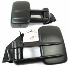 ClearView Towing Mirrors Manual Black Finish LandCruiser 70 75 76 78 79 Series