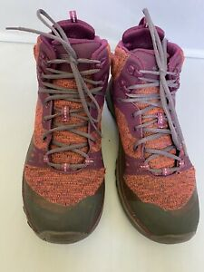 Women's Keen Dry Waterproof Hiking / Snow Pink Purple Boots Shoes Size 8