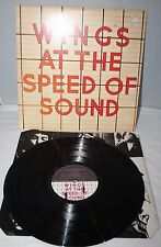 """12"""" LP - Wings At The Speed Of Sound - MPL PAS 10010 - 1976"""
