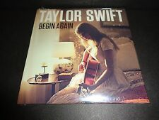 TAYLOR SWIFT Begin Again CD SINGLE Numbered BRAND NEW Big Machine Records