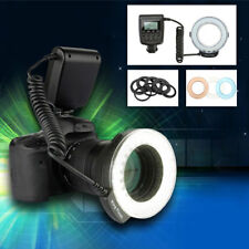 48LED Macro Ring Flash Luz Light for Nikon Canon EOS 70D 60D 80D 550D SLR Camara