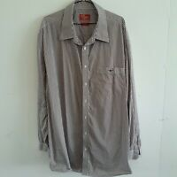 RM Williams Size 2XB Long Sleeve Button Up Shirt Stripe Country Dress