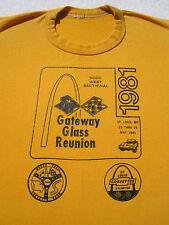 GATEWAY GLASS REUNION nccc 1981 vintage SMALL T-SHIRT corvette club