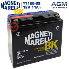 BATTERIA MAGNETI MARELLI YT12B-BS DUCATI HYPERMOTARD S 1100 2008-2009