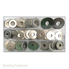 A2 Stainless Steel Metric 25mm External Penny Repair Washers M4 M5 M6 M8 M10 M12