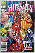 New Mutants #98 NEWSSTAND Variant 1st Deadpool Very KEY ISSUE X-Cell BIG PICS!