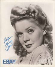 Alice Faye sultry smilie autograph RARE Photo