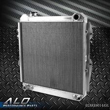 Aluminum  Radiator For 1988-1995 TOYOTA 3.0L PICKUP/4RUNNER V6 4WD Silver