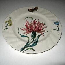 """Villeroy & Boch Bouquet Butterfly Flower 7 7/8"""" Salad Plate Dessert #4"""