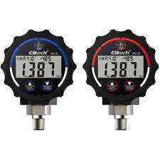 Elitech Pg-30 Red & Blue Digital Pressure Gauges High & Low Pressure Gauges Hvac