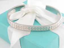 Tiffany & Co Silver Moderne Germany Men Cuff Bracelet Box Included