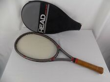 VINTAGE AMF HEAD GRAPHITE DIRECTOR TENNIS RACKET RACQUET W/ COVER 4 1/2