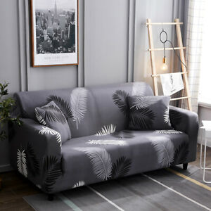 Printed Sofa Covers 1/2/3/4 Seater Spandex Stretch Couch Covers for Living Room
