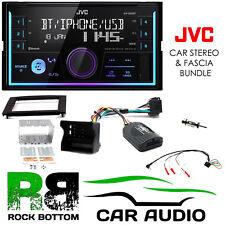 Ford Fiesta 2005-2008 JVC Bluetooth Mechless Car Stereo Black Kit CTKFD46