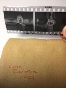 2 X Lena Zavaroni    1977.  1x1. Vintage Original Negative .