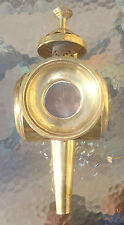 antique brass oil carriage lamp
