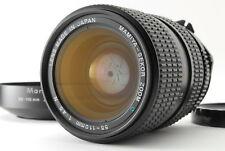 [B V.Good] Mamiya SEKOR ZOOM C 55-110mm f/4.5 N MF Lens w/Hood From JAPAN R4122