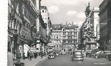 AK aus Wien, Graben mit VW-Käfer, Oldtimer, alte Autos   (B11)