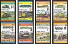 Timbres Trains Ste Lucie 794/809 ** (51829AW) - cote : 13 €