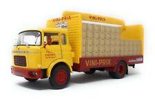 IXO 1/43 Truck Berliet Gak Vini Prix yellow red model car metal plastic