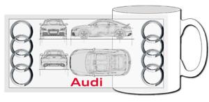 Audi TT mug, quatrro, MK2, 1.8T, 3.2, V6, TFSI, turbo, roadster, BAM, TTRS, TTS