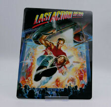 LAST ACTION HERO - Glossy Bluray Steelbook Magnet Cover (NOT LENTICULAR)