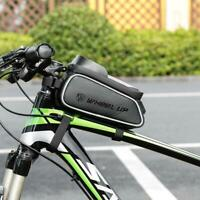Wheel Up MTB Bicycle Front Bags Waterproof Bike Frame Saddle Phone Holder Stand