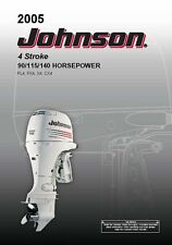 Johnson Outboard Owners Manual 2005 4 Stroke 90, 115 & 140 HP Models X4 & CX4